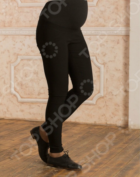 Брюки для беременных Nuova Vita 5430.1. Цвет: чёрный футболка для беременных nuova vita 1226 01 цвет чёрный