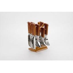 фото Набор столовых приборов на подставке Mayer&Boch MB-20004