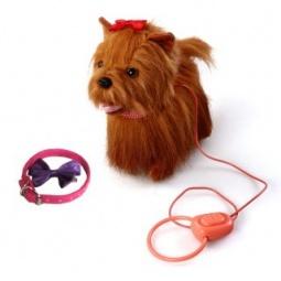 фото Игрушка интерактивная мягкая Fluffy Family «Собачка Ласка»