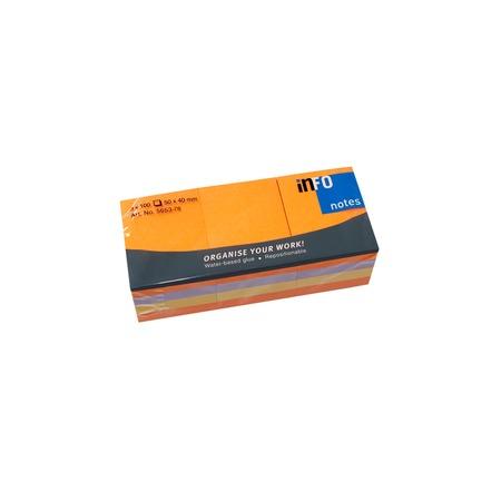 Купить Блок-кубик для записей Info Notes 5653-78