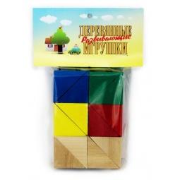 фото Набор развивающий Русские деревянные игрушки «Треугольники»