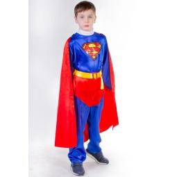 фото Костюм карнавальный для мальчика Карнавалия «Супергерой». Рост: 122 см. Возраст: 6-8 лет. Размер: S