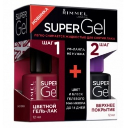 фото Лак для ногтей Rimmel Super Gel. Тон: 043