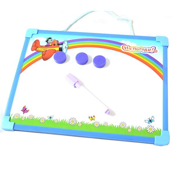 Доска для рисования с маркером и магнитами 1 TOY Т53140 Доска для рисования с маркером и магнитами 1 Toy Т53140 /