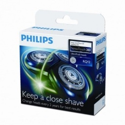 фото Бритвенная головка для 3-х головочных бритв Philips RQ 12/50