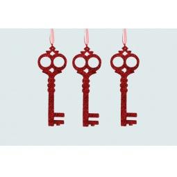 Купить Набор елочных украшений Christmas House «Ключик»