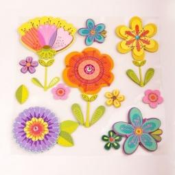 фото Набор наклеек Феникс-Презент «Цветы»