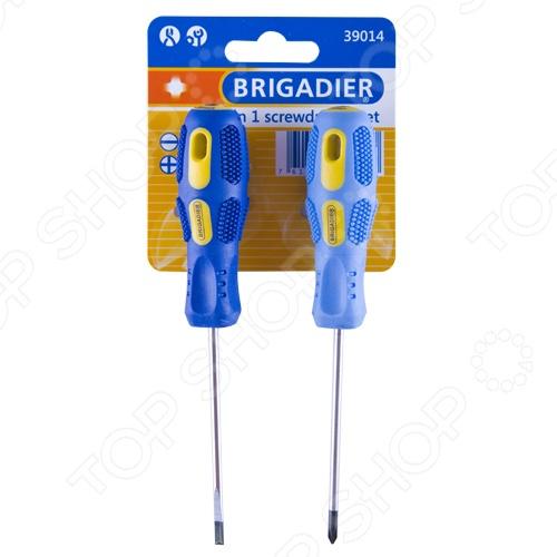 Набор отверток Brigadier 39014 набор отверток компактный brigadier 5 в 1