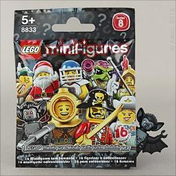 фото Конструктор LEGO Минифигурки серия 8. В ассортименте