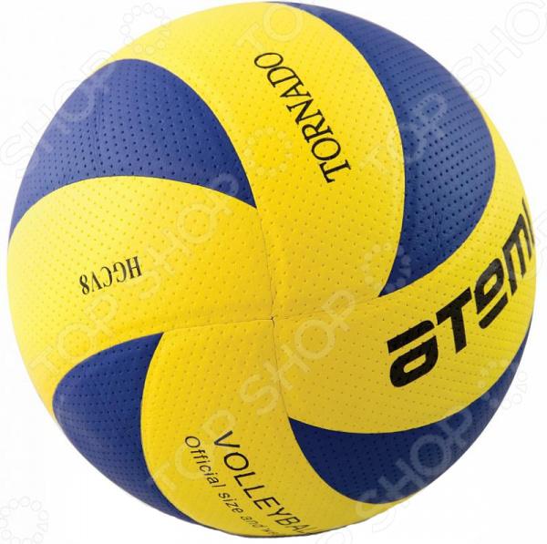 Мяч волейбольный ATEMI CDCV8Мячи волейбольные<br>Пляжный мяч волейбольный ATEMI CDCV8 предназначен для пляжных волейболистов. Покрытие из синтетической кожи прекрасно подходит для отрабатывания техники на тренировках. Рекомендуется использовать его только в спортивном зале или на песке, чтобы не испортить покрытие и внешний вид мяча. Прием сильной подачи, игра в защите и в нападении не доставят болевых ощущений. Благодаря нескольким слоям ультрамягкого покрытия, на коже рук не остается синяков. Рекомендуется накачивать мяч обыкновенным насосом с иглой. Волейбол был и остается одним из самых популярных видов спорта. Во время игры происходит активная равномерная нагрузка на все группы мышц и сердечно-сосудистую систему. Этот вид спорта отлично себя зарекомендовал в школах на уроках физкультуры. Дети играют с интересом и энтузиазмом. Волейбольный мяч позволит вам всей семьей проводить время за полезным и интересным занятием, которое учит сплоченности и коллективной работе. Также, такой подарок может стать началом волейбольной карьеры вашего ребенка в будущем.<br>