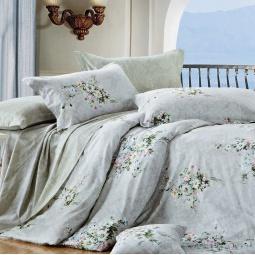фото Комплект постельного белья Amore Mio Buket. Provence. Семейный