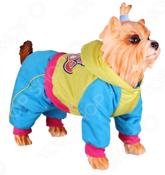Комбинезон для собак DEZZIE 563525 триол комбинезон зимний микки для собак trio l