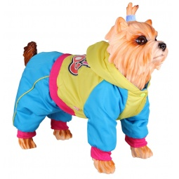 фото Комбинезон для собак DEZZIE «Морти». Размер: M (25 см)