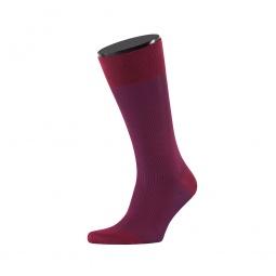 фото Носки мужские Teller Classic Color Rib. Цвет: бордовый. Размер: 44-46