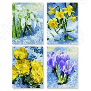 Набор для рисования по номерам Schipper «Весеннее пробуждение цветов»