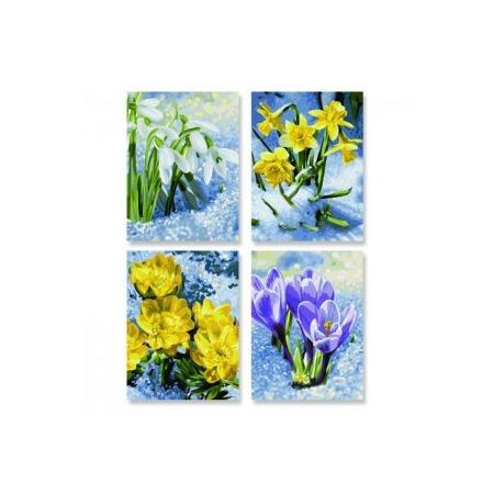 Купить Набор для рисования по номерам Schipper «Весеннее пробуждение цветов»