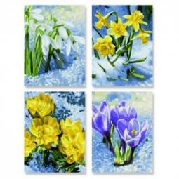 фото Набор для рисования по номерам Schipper «Весеннее пробуждение цветов»