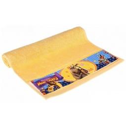 фото Полотенце махровое Непоседа «Мадагаскар. Мелман». Цвет: желтый. Размер полотенца: 50х90 см