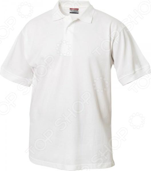 Рубашка-поло Clique «Линкольн». Цвет: белый