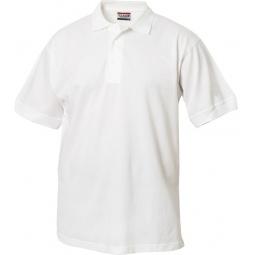 фото Рубашка-поло Clique «Линкольн». Цвет: белый. Размер одежды: XXL