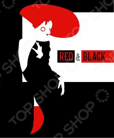 Тетрадь в клетку на гребне лакированная Пересвет «Красное и черное». В ассортименте