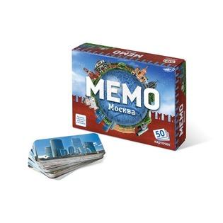 Купить Игра настольная развивающая БЭМБИ «Мемо. Москва»