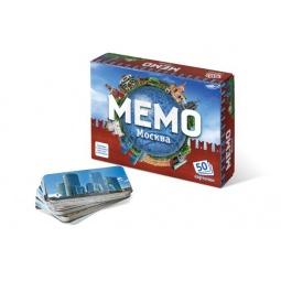 фото Игра настольная развивающая БЭМБИ «Мемо. Москва»