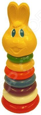 Игрушка-пирамидка Плэйдорадо «Зайчик» 25067. В ассортименте