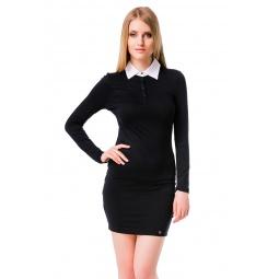 фото Платье Mondigo 8524. Цвет: черный. Размер одежды: 42
