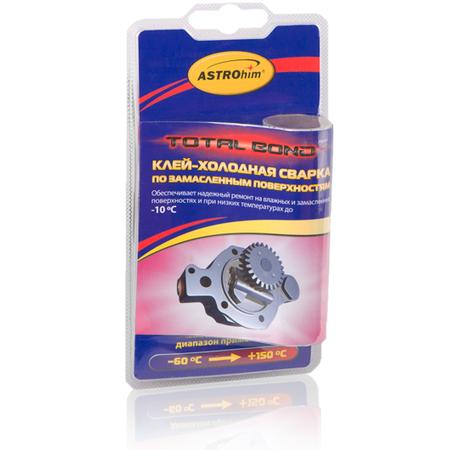 Купить Клей-холодная сварка по замасленным поверхностям Астрохим ACT-9301