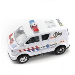 фото Машинка инерционная Shantou Gepai «Микроавтобус. Скорая помощь»