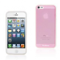 фото Чехол и пленка на экран для iPhone 5 Yoobao Protect Case. Цвет: розовый