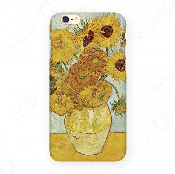 Чехол для iPhone 6 Mitya Veselkov «Подсолнухи Ван Гога» чехол для ipad mitya veselkov подсолнухи ван гога