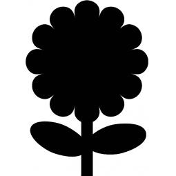 фото Набор: доска для заметок меловая и маркер Securit «Цветок»