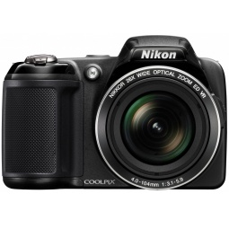 фото Фотокамера цифровая Nikon CoolPix L810. Цвет: черный