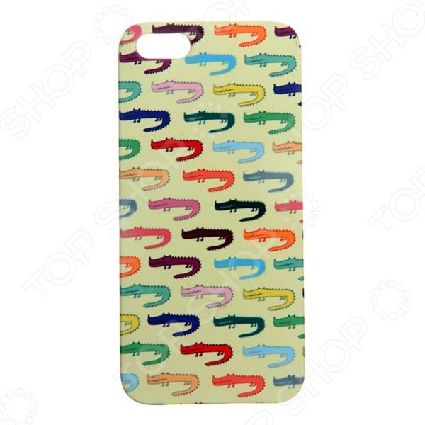 Чехол для iPhone 5 Mitya Veselkov «Мини-крокодилы»