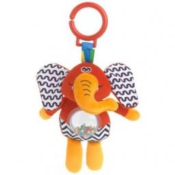 фото Игрушка подвесная Жирафики «Слон с погремушкой»
