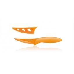 фото Нож универсальный с непристающим лезвием Tescoma Presto. Длина: 19 см. Цвет: оранжевый