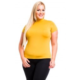 фото Водолазка Mondigo XL 216. Цвет: горчичный. Размер одежды: 48