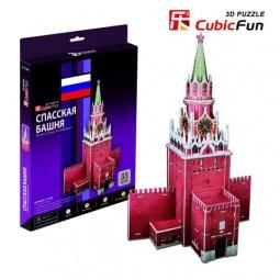 Купить Пазл 3D CubicFun «Спасская башня»