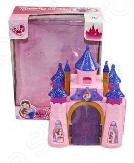 Замок кукольный Shantou Gepai 626345Кукольные домики. Мебель<br>Замок кукольный Shantou Gepai 626345 это отличный подарок для любой девочки. В таком замке ее любимые куклы смогут жить в комфорте. Девочки смогут самостоятельно моделировать различные сюжетные игры и ситуации со своими любимыми куклами. Двери замка открываются. Замок состоит из двух стенок-половинок, которые можно складывать или раскладывать по желанию. Игрушка предназначена для сюжетно-ролевых игр и способствует развитию воображения ребенка.<br>