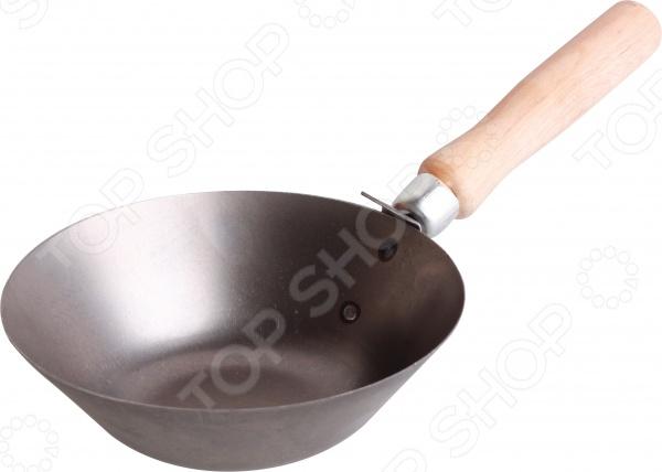 Ковш штукатурный Archimedes 90780Другой отделочный инструмент<br>Ковш штукатурный Archimedes 90780 посуда с площадкой для нанесения штукатурки или любой другой цементно-песчаной смеси. Ручка изготовлена из дерева и имеет удобную форму для хвата.<br>