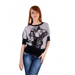 фото Кофта Mondigo 18500. Цвет: черный. Размер одежды: 46