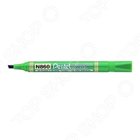 Маркер перманентный Pentel PN860Перманентные маркеры<br>Маркер перманентный Pentel PN860 канцелярский предмет, необходимый для разметки, маркировки и редактирования. Пригодится школьникам, студентам и офисным работникам. Маркер подходит почти для всех поверхностей: бумага, картон, стекло, пластик, фарфор, керамика, дерево и др. Чернила быстро высыхают после нанесения.<br>