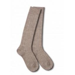 фото Носки детские Teller Wool Knee High. Цвет: бежевый. Размер: 33-35