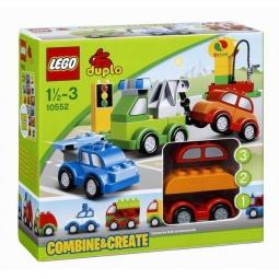 фото Конструктор LEGO Машинки-трансформеры