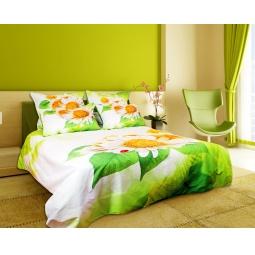 фото Комплект постельного белья Domomania Daisy. Satin Fotoprint. 2-спальный