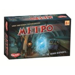 фото Игра карточная Genio Kids «Метро»