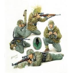 фото Сборная модель Звезда Немецкие снайперы