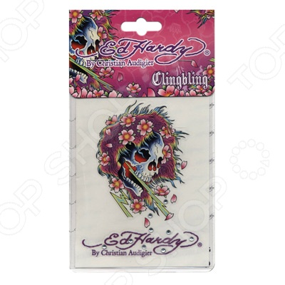 цена на Наклейка со стразами ED Hardy EH-00734 Beautiful ghost